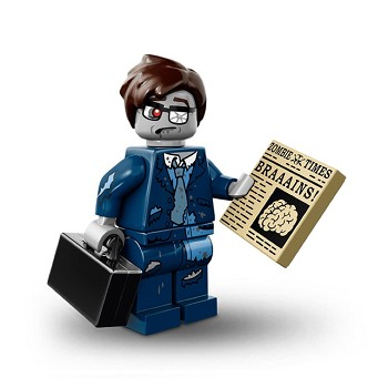 LEGO Collectible Minifigures: 71010 Series 14 Zombie Businessman NEW