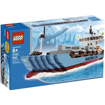 LEGO Exclusives Sets: Advanced Models 10155 Maersk Sealand Container Ship NEW