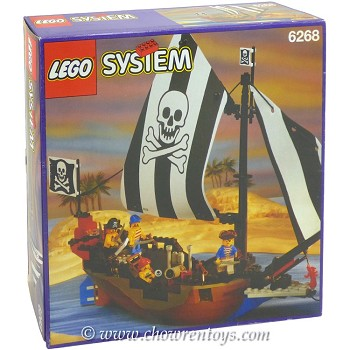 LEGO Pirates Sets: 6268 Renegade Runner NEW *Rough Shape*