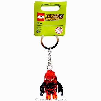 LEGO Power Miners Sets: 852862 Rock Monster Firax Key Chain NEW