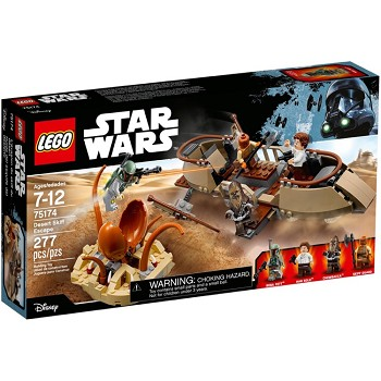 LEGO Star Wars Sets: 75174 Desert Skiff Escape NEW