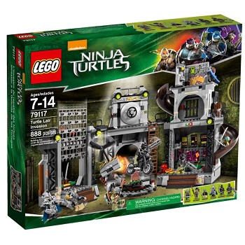 LEGO Teenage Mutant Ninja Turtles Sets: 79117 Turtle Lair Invasion NEW