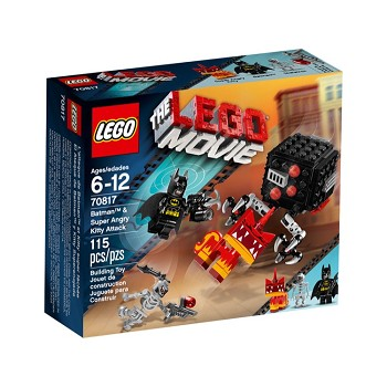 LEGO The LEGO Movie Sets: 70817 Batman & Super Angry Kitty Attack NEW