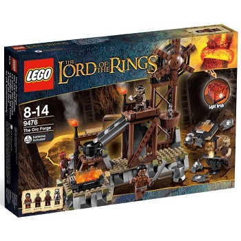 LEGO Lord of the Rings Sets: 9476 The Orc Forge NEW