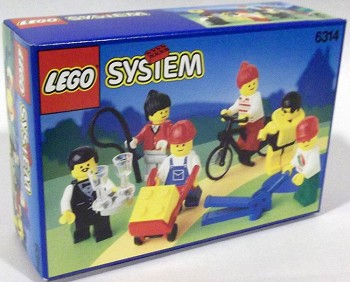 LEGO Town Sets: LEGO Minifigures 6314 City People NEW