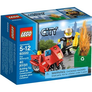LEGO Town Sets: Fire 60000 Fire Motorcycle NEW