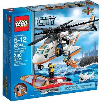 LEGO Town Sets: City 60013 Coast Guard Helicopter NEW
