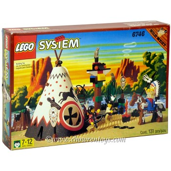 LEGO Western Sets: 6746 Chief's Tepee NEW *Rough Shape*